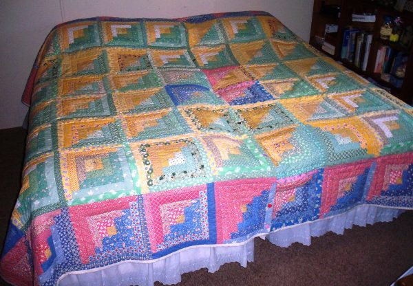 Love Quilt as one quilt