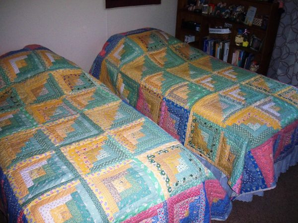 Love Quilt as two quilts